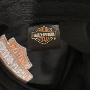 5cb0d2873a2cb Harley Davidson NWOT Antique Suede Leather Cap NWT